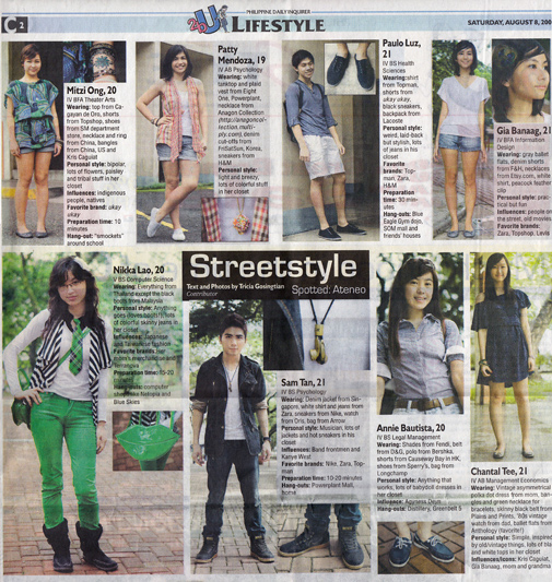 Inquirer 2bu: Street Style