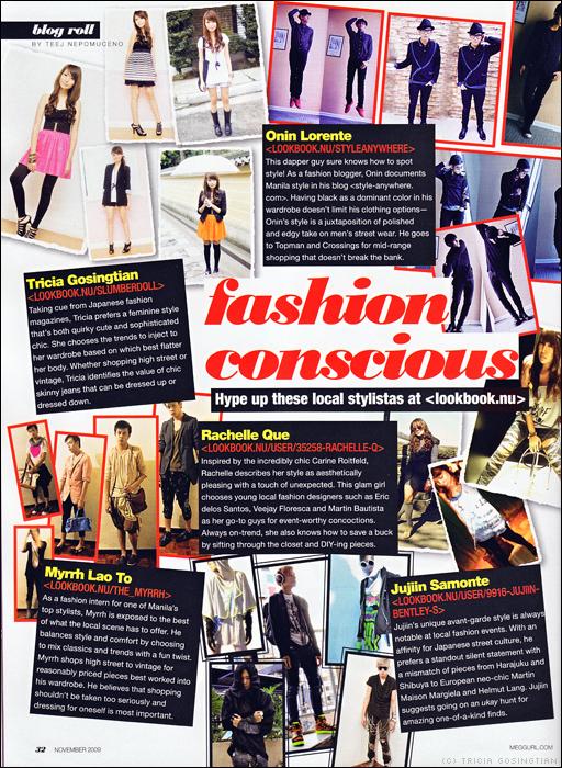 Press Feature: Meg November 2009