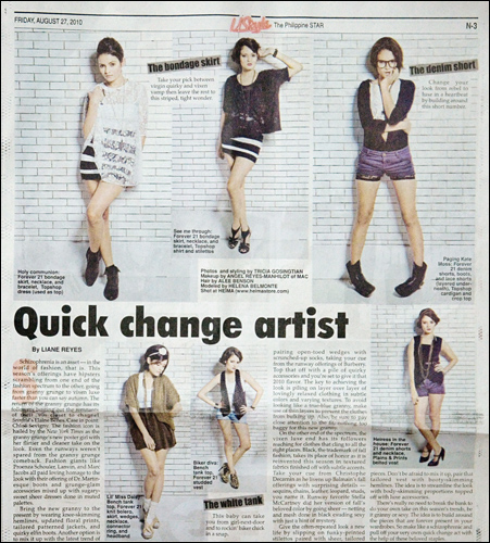 The Philippine Star YStyle August 27, 2010