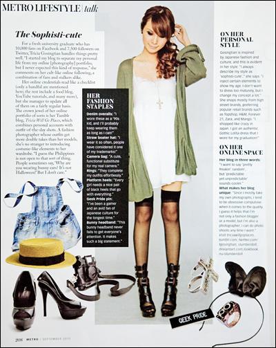 Metro Magazine September 2010