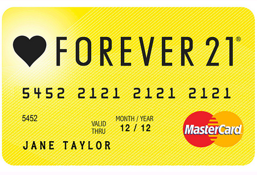 Forever 21 Philippines MasterCard