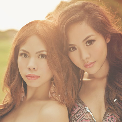 Tricia Gosingtian Krissy and Ericka