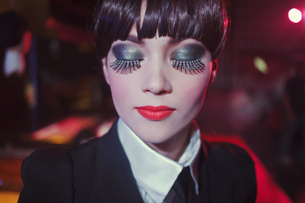Tricia Gosingtian Karl Lagerfeld x Shu Uemura Makeup Beauty