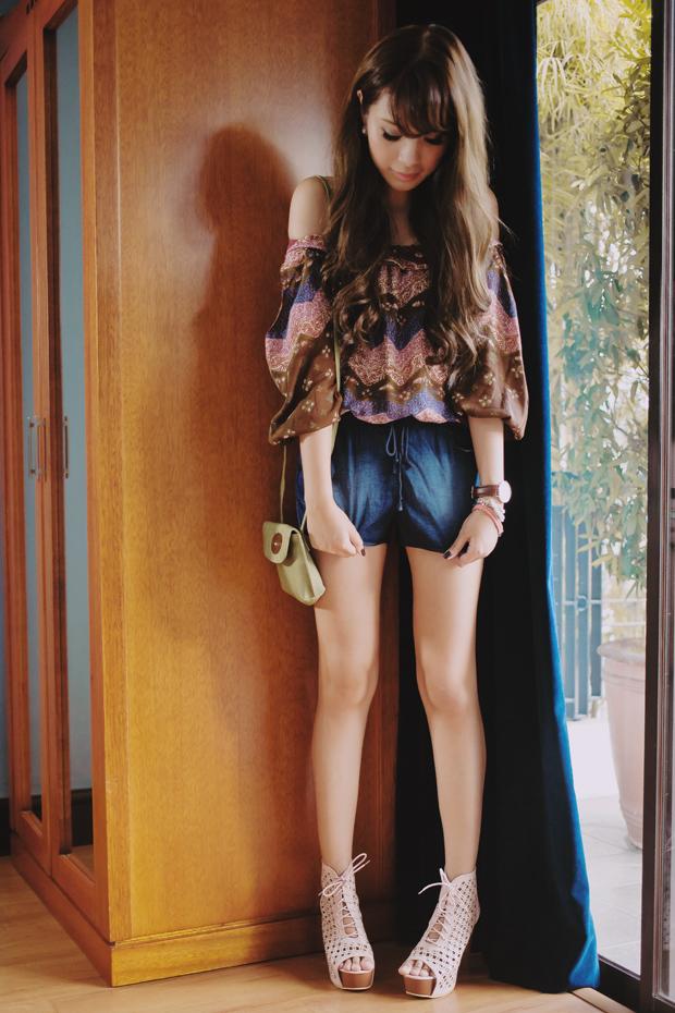 Tricia Gosingtian MOFW Indonesia Batik