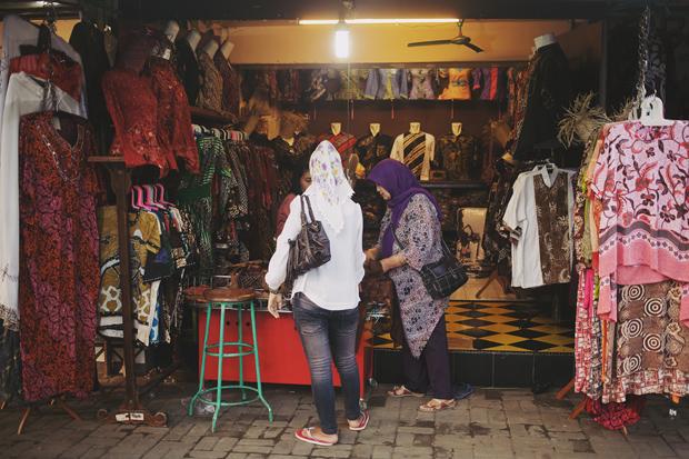 Tricia Gosingtian Indonesia Batik Day