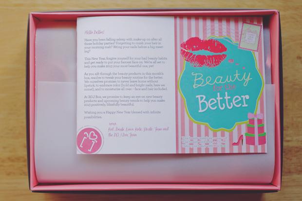 BDJ BOX Belle de Jour