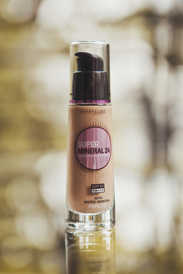 Fave of the Moment: Maybelline Super Mineral 24 Foundation