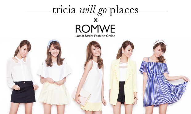 Tricia Gosingtian for Romwe