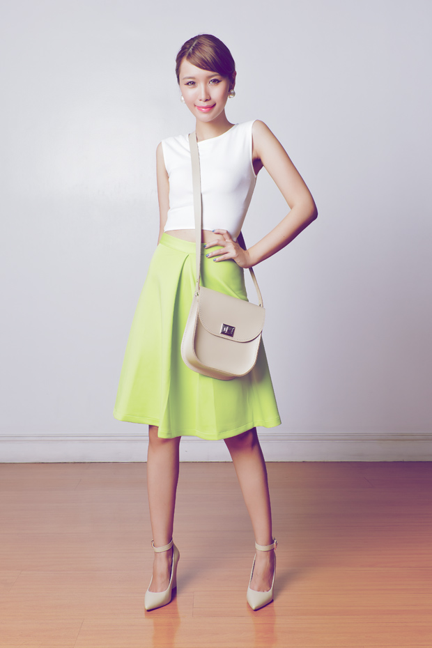 Trendspotting: Crop Tops and Midi Skirts