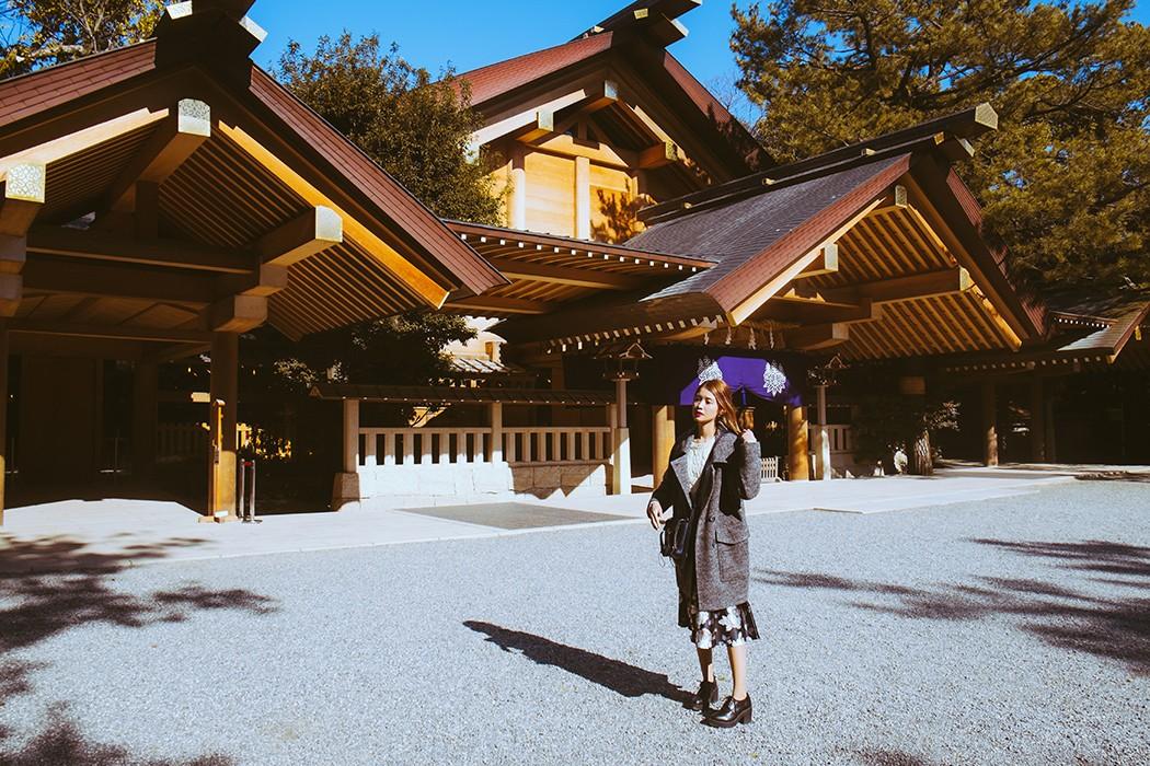 Nagoya December 2014 Part 3 - Atsuta Shrine - Tricia Will Go Places