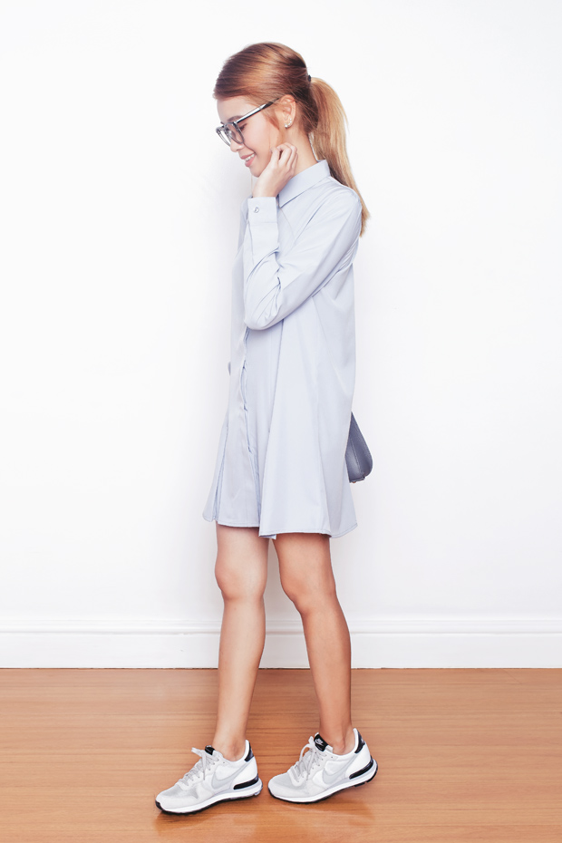 sale retailer 856b3 07655 Shirt Dress - Tricia Will Go Places