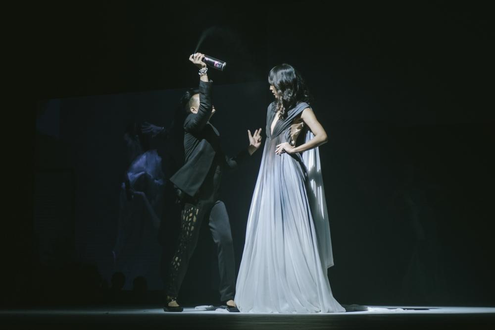 #TRESemmeRunwayReady Backstage Fashion Show: Lourd Ramos x Francis Libiran