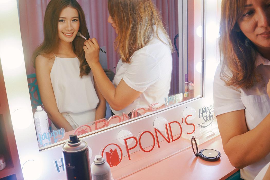 Pond's No Makeup Look