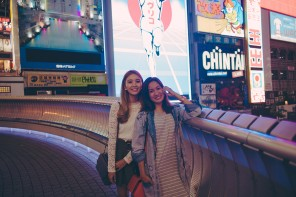 Tricia Gosingtian in Osaka