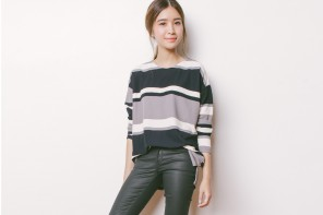 Happymallow: Striped Sweater