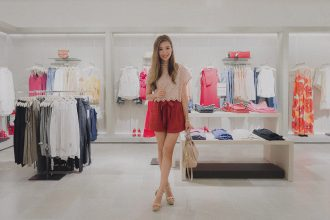 Top and shorts from MANGO's latest collection.