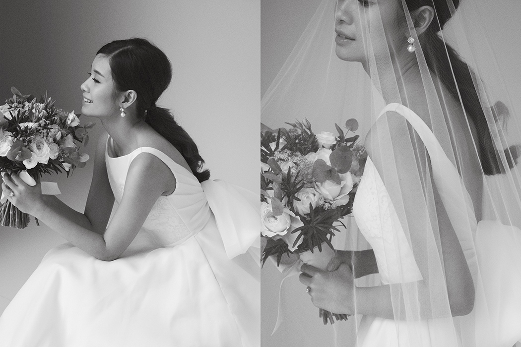 291c0459f7c1 Photography by Shaira Luna / Dress by Vania Romoff / Suit from Signet /  Hair and make-up by Raymund Defeo / Bouquet by Jacqs Floral / Rings by  Little White ...