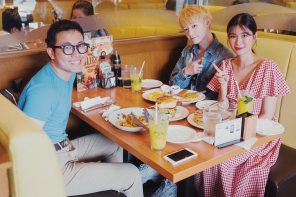 Catching Up at Denny's BGC